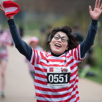 Where's Wally? Virtual Fun Run